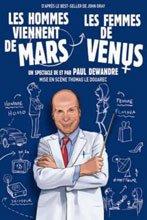 Les hommes viennent de mars et les femmes de Vénus