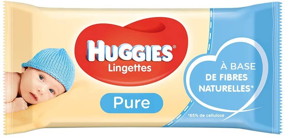 lingettes huggies pure